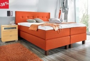 Boxspringbed merk Breckle model Malibu