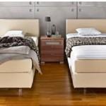 boxspring bed