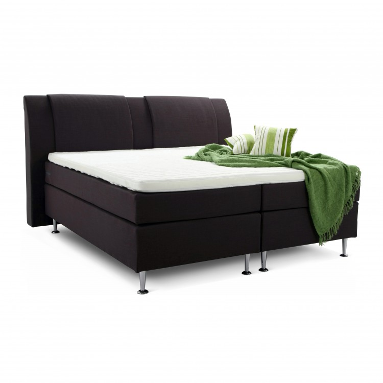 boxspring bjane met hoog hoofdeinde van breckle. Black Bedroom Furniture Sets. Home Design Ideas